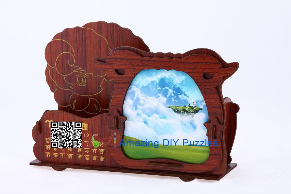 DIY toy-3D puzzle-Rosewood Aries