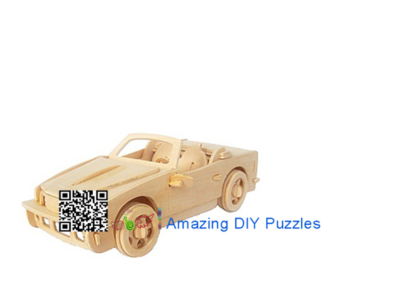 DIY toy-3D puzzle-Wooden B740I BMW