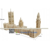 DIY toy-3D puzzle-Wooden Big Ben