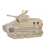 DIY toy-3D puzzle-Wooden Infantry tank armored vehicle