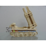 DIY toy-3D puzzle-Wooden Patriot missile