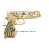 DIY toy-3D puzzle-Wooden Pistol